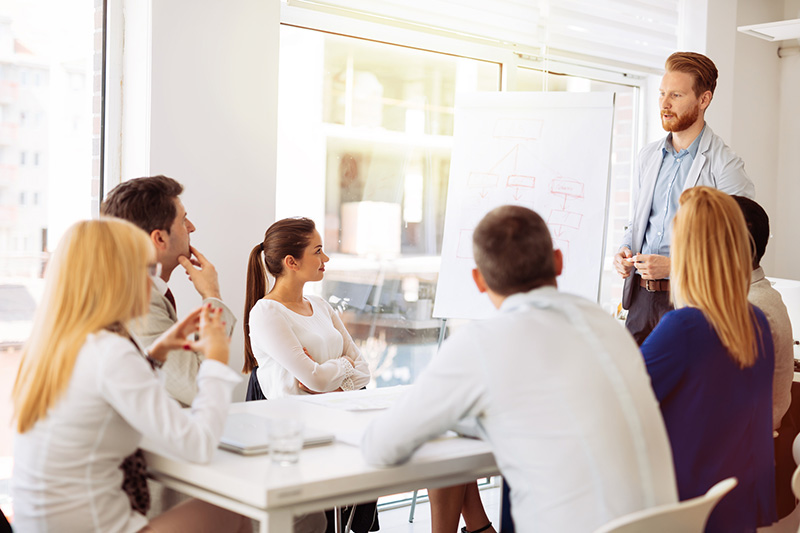 Vortrag im neuen Job: Artikel high-potential.com